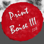 Red Print Boise III chop created by April Hoff from Assist Potential